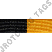 Black and Gold Ribbon Optional Color Awards (Each)