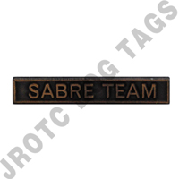 Ribbon Bar Attachment Sabre Team (Bronze)