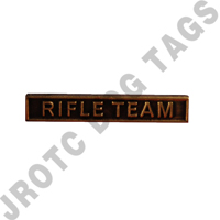 Ribbon Bar Attachment Rifle Team (Bronze)