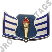 Senior Airman AFJROTC Pin on Rank (PR)