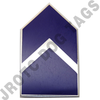 C/4C Miniature AFROTC Pin on Rank (PR)