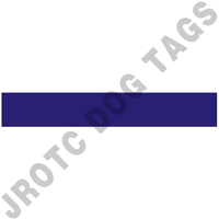 Blank Air Force Nameplates (Box Of 100)