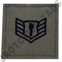 Staff Sergeant ABU Rank JROTC Hook Back (Each)