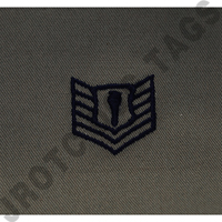 Technical Sergeant (TSgt) ABU Rank JROTC Sew On (Pair)