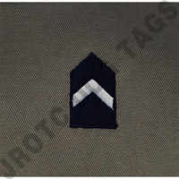 Major (Maj) ABU Rank JROTC Sew On (Pair)