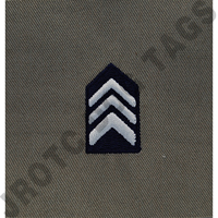 Colonel (Col) ABU Rank JROTC Sew On (Pair)