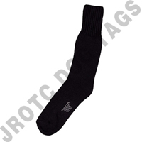 Sock - Cotton Black Boot Sock (40 Pairs) (No Returns)