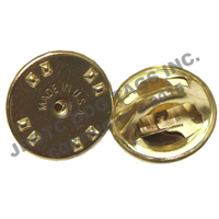 butterfly clutch tip backings