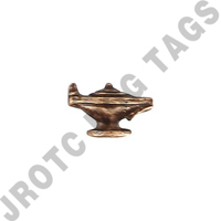 Lamp Ribbon Attachment Bronze (Bag Of 100)