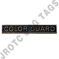 Ribbon Bar Attachment Color Guard (Bronze)