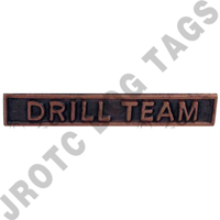 Ribbon Bar Attachment Drill Team (Bronze)