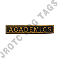 Ribbon Bar Attachment Academics (Bronze)