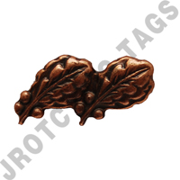 Bronze Oak Leaf 2